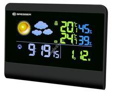 Bresser TemeoTrend Colour RC időjárás állomás fekete 71136