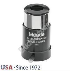 Meade 4000 sorozatú 3x rövid fókuszú Barlow-lencse 1,25