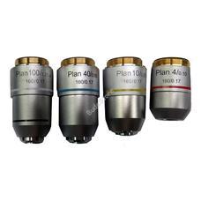Levenhuk MED 900 plan-akromatikus objektívkészlet 4x/10x/40xs/100xs olaj 72777