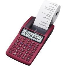 CASIO HR 8 TEC RD Nyomtatós számológép piros HR8TECRD