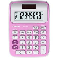 CASIO MS 6 NC/PK Asztali számológép pink MS6NC/PK