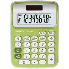 CASIO MS 6 NC/GN Asztali számológép zöld MS6NC/GN