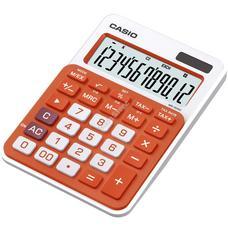 CASIO MS 20 NC/RG Asztali számológép narancssárga MS20NC/RG