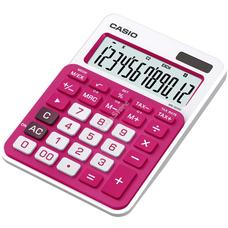 CASIO MS 20 NC/RD Asztali számológép piros/magenta MS20NC/RD