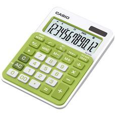 CASIO MS 20 NC/GN Asztali számológép zöld MS20NC/GN