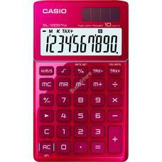 CASIO SL 1000 TW RED Zsebszámológép SL1000TW