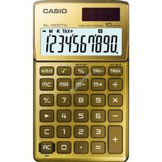 CASIO SL 1000 TW GOLD Zsebszámológép SL1000TW