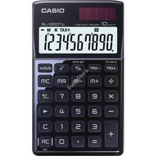 CASIO SL 1000 TW BLACK Zsebszámológép SL1000TW