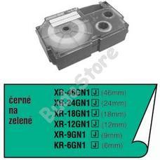CASIO XR 24 GN1 Címkéző szalag XR24GN1