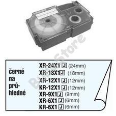 CASIO XR 18 X1 Címkéző szalag XR18X1
