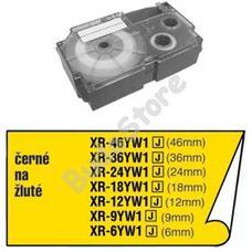 CASIO XR 12 YW1 Címkéző szalag XR12YW1