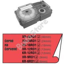CASIO XR 12 RD1 Címkéző szalag XR12YRD1