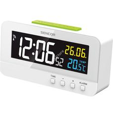 SENCOR SDC 4800 W Ébresztőóra hőmérővel SDC4800W
