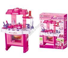G21 Gyermek konyha edénykészlettel rózsaszín 690402