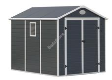 G21 PAH 458-241 x 190 cm műanyag szürke kerti ház 6390038