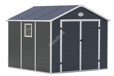 G21 PAH 670-241 x 278 cm műanyag szürke kerti ház 6390039