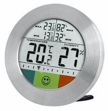 Bresser Temeo Hygro Circuitu időjárás állomás ezüst 73256