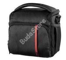 HAMA 121865 Nashvill 130 fotó táska fekete/vörös