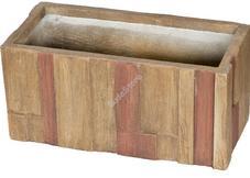 G21 Wood Cube virágcserép 59x28x28cm 639264