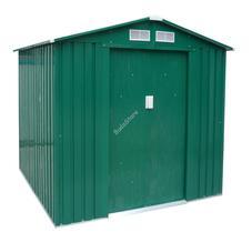 G21 GAH 327-191x171 cm-es kerti fém ház zöld 6390051