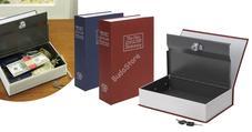 Könyv alakú biztonsági doboz bordó HOP1000291-2