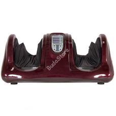 Elektromos lábmasszírozó távirányítós burgundy HOP1000869-2