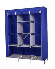 Mobil ruhásszekrény 130x45x170cm kék HOP1000701-1