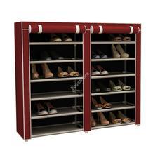Mobil cipőtároló szekrény bordó HOP1000975-2