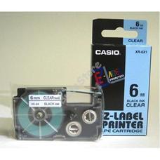 CASIO 6 mm-es szalag cimkenyomtatóhoz KR/XR6