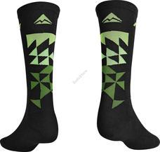 MERIDA Zokni ME fekete/zöld S(37-39) (24cm) - MTB 2317001486