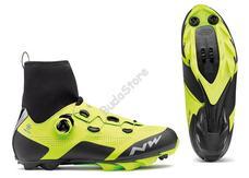 NORTHWAVE Cipő NW MTB RAPTOR ARCTIC GTX 49, téli, fluo sárga-fekete 80172023-41-49