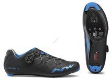 NORTHWAVE Cipő NW ROAD EXTREME GT 43 fekete-kékmetál 80181030-16-43