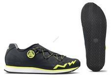 NORTHWAVE Cipő NW CITY PODIUM R 42 fekete-sárga fluo 80184015-10-42