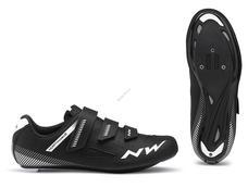 NORTHWAVE Cipő NW ROAD CORE 3S 48 fekete 80191016-10-48