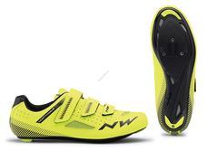 NORTHWAVE Cipő NW ROAD CORE 3S 45,5 fluo sárga-fekete 80191016-41-455