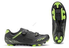NORTHWAVE Cipő NW MTB ORIGIN PLUS 47 fekete-zöld 80192026-01-47