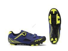 NORTHWAVE Cipő NW MTB ORIGIN PLUS 45 kék-fluo sárga 80192026-23-45