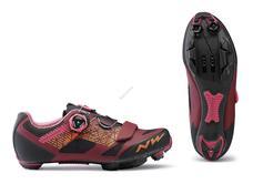 NORTHWAVE Cipő NW MTB RAZER WMN 38 női, piros-fekete 80192040-34-38