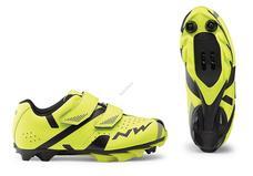 NORTHWAVE Cipő NW MTB HAMMER 2 JUNIOR 34 fluo sárga-fekete 80192045-41-34