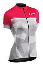 NORTHWAVE Mez NW ORIGIN WMN női rövid L pink-világosszürke 89191234-79-L