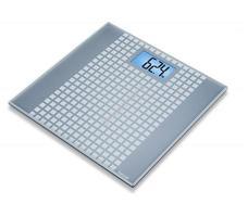 BEURER GS206 Squares Üveg személymérleg