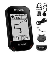 BRYTON Computer Bryton Rider 420T GPS szett (CAD+HRM) 60/ctn BRRIDER420T