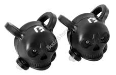 BIKEFUN Lámpa BF szett Skull E+H 2+2 LED fekete (50/ctn) JY-339-BB
