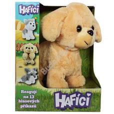 HAFICI hangra reagáló plüss kutya Retriever