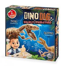 BUKI Dínó felfedező készlet T-REX és Velociraptor