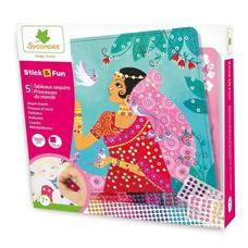 SYCOMORE Mozaikkép készítő flitterekkel - A világ hercegnői
