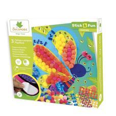 SYCOMORE Mozaikkép készítés habszivacsból - Pillangók