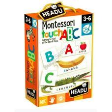 HEADU Montessori Érintős Puzzle - Angol ABC
