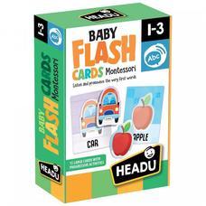 HEADU Montessori Baby - Figura kártyák