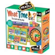 HEADU What time is it?